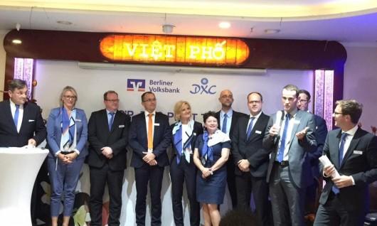 TIN NHANH: Berliner Volksbank & các doanh nghiệp Việt Nam tại Đức gặp gỡ, hợp tác cùng phát triển