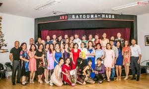 CLB KHIÊU VŨ AWO MỪNG SINH NHẬT ANH VIỄN 80 TUỔI & ANH QUẢNG 70 TUỔI TẠI BERLIN - Ảnh Nguyễn Duy