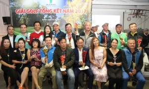 GIẢI GOLF TỔNG KẾT NĂM 20117 CỦA CLB ´GOLF TOÀN CHLB ĐỨC´