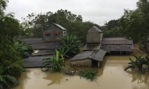 Mưa lũ ở Thừa Thiên - Huế khiến ít nhất 2 người chết và mất tích, hơn 7.000 ngôi nhà bị ngập, nhiều địa phương bị chìm trong biển nước.
