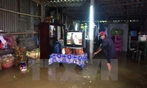 Nhật Bản viện trợ thiết bị lọc nước cho người dân vùng bão lũ