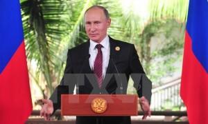Tổng thống Putin đánh giá cao chủ đề mà Việt Nam đưa ra tại APEC 2017