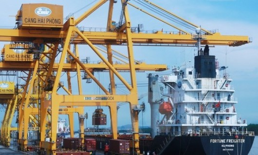 HẢI PHÒNG: sẽ điều chỉnh mức thu phí cảng biển từ 1/1/2018