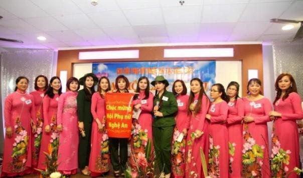 Thư mời dự Đại hội lần thứ 3 của Hội phụ nữ Nghệ An tại Đức