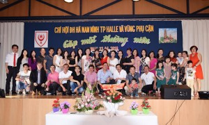 CHI HỘI ĐH HÀ NAM NINH TP HALLE & VÙNG PHỤ CẬN GẶP MẶT THƯỜNG NIÊN - Ảnh Lưu Văn Dũng