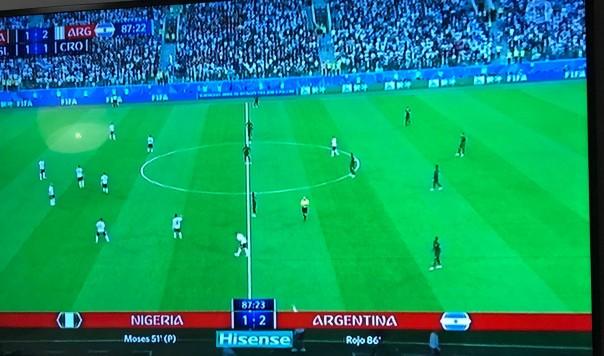 NIGERIA 1-2 ARGENTINA: TRỌNG TÀI KHÔNG THỔI PHẠT ĐỀN MARCOS ROJO LÀ ĐÚNG HAY SAI