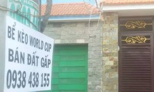 TP HỒ CHÍ MINH: CẦM ĐỒ ´QUÁ TẢI´ MÙA WORLD CUP