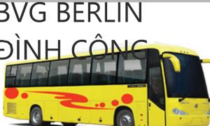 CẢNH BÁO: XÍ NGHIỆP THUỘC CT GIAO THÔNG BERLIN BÃI CÔNG TỪ 3h 30 ĐẾN 22h NGÀY 14.3.2019