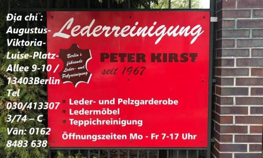 "HÃNG ""KIST"" CHUYÊN GIẶT ĐỒ DA TẠI BERLIN"