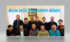 TIN NHANH: BCH HỘI ĐH NINH BÌNH CHLB ĐỨC HỌP ĐỀ RA PHƯƠNG HƯỚNG HOẠT ĐỘNG NĂM 2019