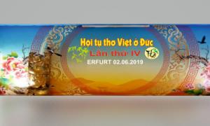 CHÀO MỪNG HỘI TỤ THƠ VIỆT Ở ĐỨC TẠI ERFURT (02.06.2019 ) - Duy Thuyen Nguyen