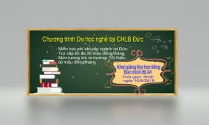 THƯ MỜI: THAM GIA KHAI GIẢNG LỚP HỌC TIẾNG ĐỨC A1 TẠI TP NGHỆ AN