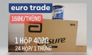 EURO TRADE CUNG CẤP SỮA ENSURE 400G CỦA ĐỨC VỀ VIỆT NAM