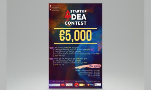 GIỚI THIỆU STARTUP IDEA CONTEST: Cuộc Thi Ý Tưởng Khởi Nghiệp đầu tiên cho người Việt tại Châu Âu.