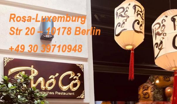 MỜI THƯỞNG THỨC MÓN NGON VIỆT TẠI QUÁN ´PHỐ CỔ´ BERLIN