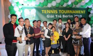 ALBUM: LỄ TRAO CUP GIẢI TENNIS TOURNAMENT - GIẢI TRẺ BERLIN 2019