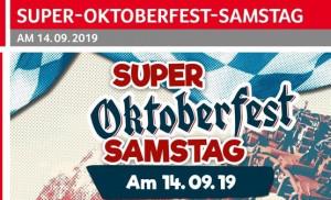 MỜI ´SCHOPPING OKTOBERFEST ´ TẠI SELGOS LICHTENBERG VỚI NHIỀU HÀNG GIẢM GIÁ (Từ 12.9 đến 18.9.2019)
