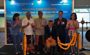 VIETNAM AIRLINES CHÍNH THỨC KHAI TRƯƠNG ĐƯỜNG BAY TP HỒ CHÍ MINH-BALI (Indonesia)