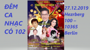 MỜI GẶP GỠ NS THẦN TƯỢNG: MC NGUYỄN NGỌC NGẠN, CS TRƯỜNG VŨ & CS MAI THIÊN VÂN TẠI EAST MOON2 ĐÊM 27.12.2019