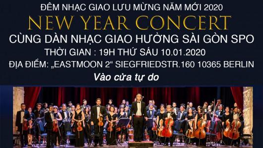 THƯ MỜI: DỰ ĐÊM NHẠC GIAO HƯỞNG SÀI GÒN SPO TẠI EAST MOON2 (19 giờ 10.1.2020)