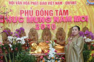 NHÀ NGOẠI CẢM BÍCH NGỌC, THỦ NHANG PHỦ ĐỒNG TÂM XUÂN 2020