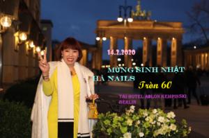 ALBUM: MỪNG SINH NHẬT HÀ NAILS TRÒN 60 TUỔI TẠI HOTEL ADLON KEMPINSKI