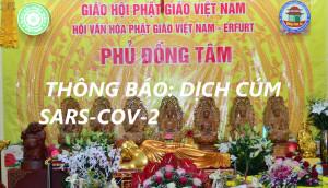 PHỦ ĐỒNG TÂM TP ERFURT CHLB ĐỨC THÔNG BÁO: DỊCH CÚM SARS-COV-2