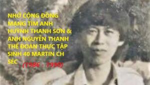 NHỜ CỘNG ĐỒNG MẠNG TÌM ANH HUỲNH THANH SƠN & ANH NGUYỄN THANH THẾ ĐOÀN THỰC TẬP SINH 40 MARTIN CH SÉC