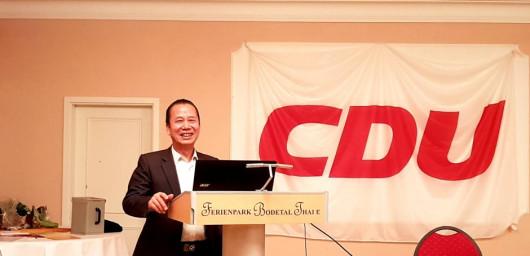 ÔNG NGUYỄN ĐẮC NGHIỆP TIẾP TỤC ĐƯỢC BẦU VÀO BAN LÃNH ĐẠO ĐẢNG CDU TẠI TP THALE
