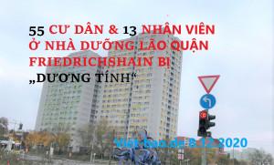 """55 CƯ DÂN & 13 NHÂN VIÊN Ở NHÀ DƯỠNG LÃO QUẬN FRIEDRICHSHAIN BỊ """"DƯƠNG TÍNH"""""""