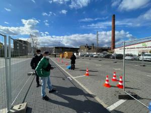 CORONA TEST NHANH CHO CỘNG ĐỒNG VIỆT TRONG TTTM ĐỒNG XUÂN BERLIN