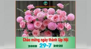 KỶ NIỆM 29/7 NGÀY THÀNH LẬP HỘI CCB VIỆT NAM TẠI CHLB ĐỨC (29.7.2018-29.7.2021)
