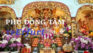 MỜI DỰ LỄ PHẢ ĐỘ CẦU SIÊU THOÁT TẠI ĐỒNG TÂM PHỦ TP ERFURT (21.8.2021)